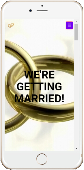 Mobile Website Getting Married