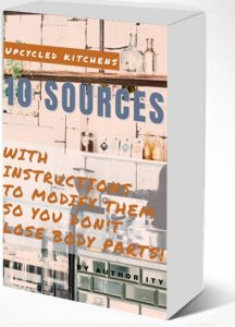 Upcycled Kitchens Dimensional eBook Cover